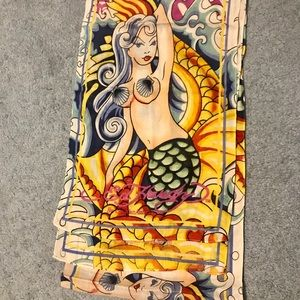 Ed Hardy Long mermaid scarf